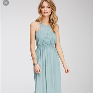 Forever 21 Maxi Dress with cutouts